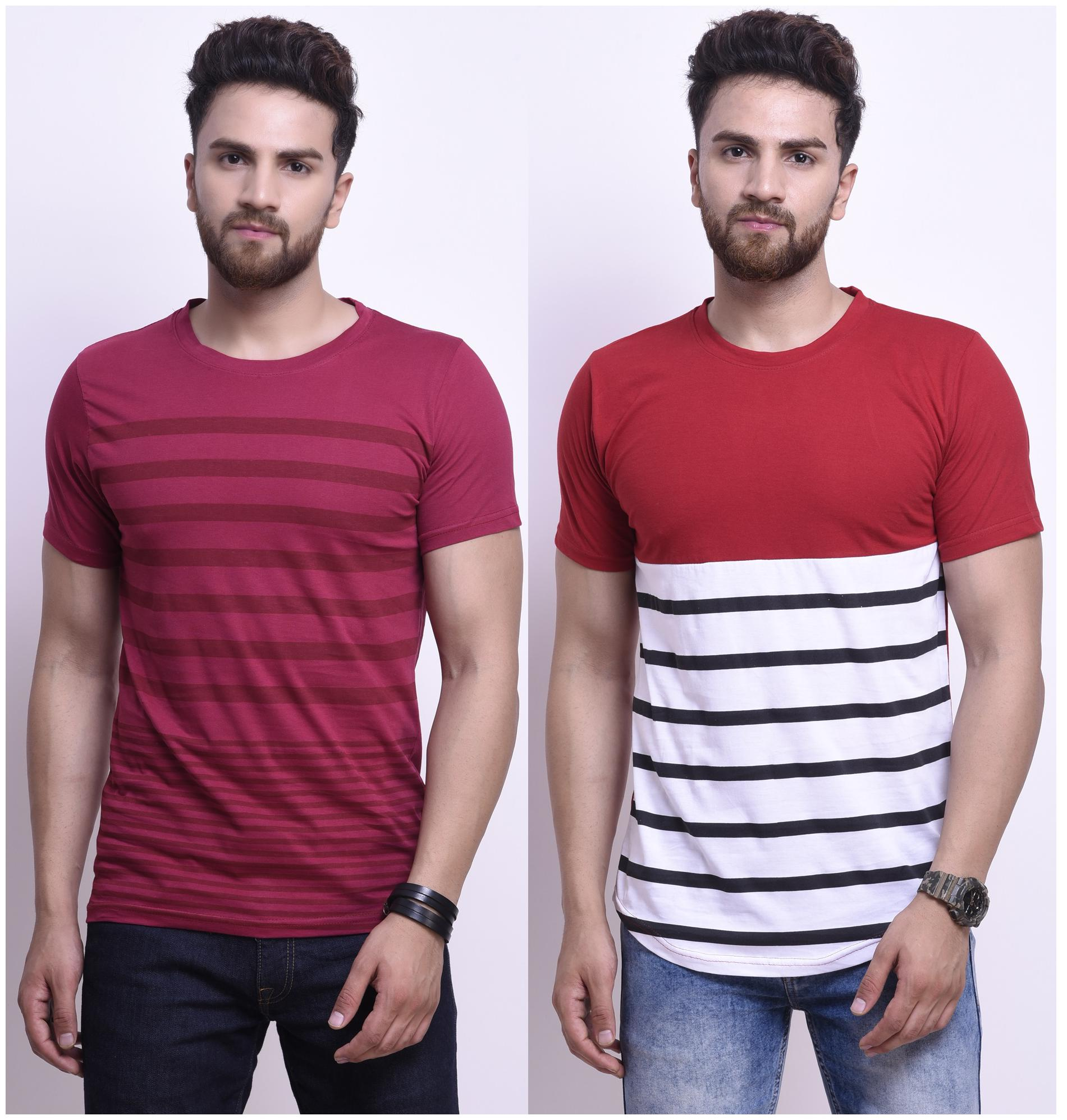 Stylesmyth Cotton Half Sleeves T-shirt