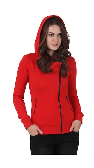 The Fashion Bay!! Upto 50% Cashback On Clothing Collection By Paytm | Texco Winter Hooded Sweat Shirt @ Rs.1,699