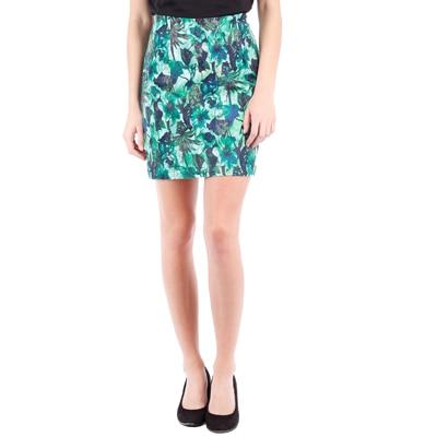 Tokyo Talkies Green Cotton Skirt