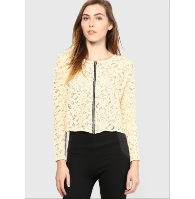 Mayra Beige color Top for Women