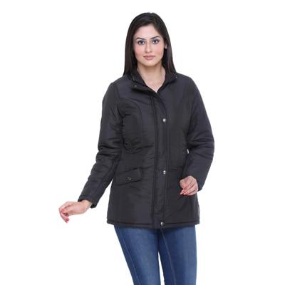 Trufit Black Blended Jacket