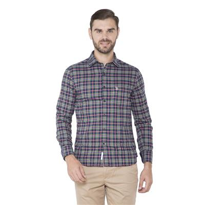 U.S. Polo Assn. Blue Casuals Regular Fit Shirt