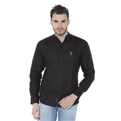 U.S. Polo Assn. Black Casuals Slim Fit Shirt