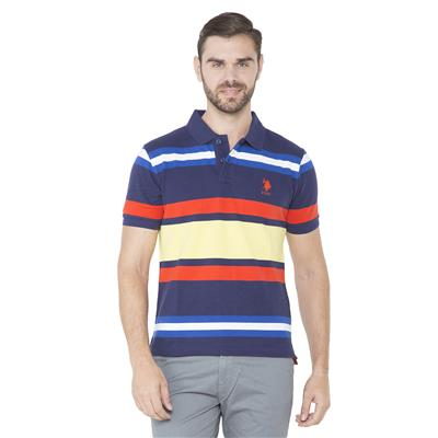 U.S. Polo Assn. Blue Polo T-Shirt
