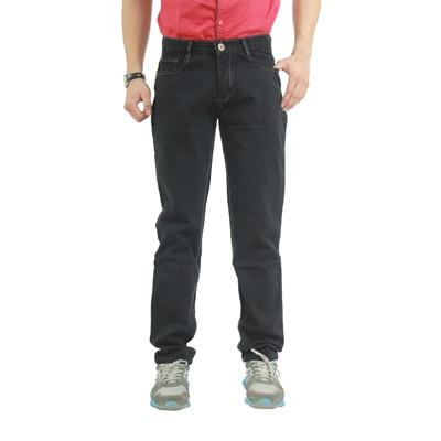 Uber Urban Black Cotton Regular Fit Jeans