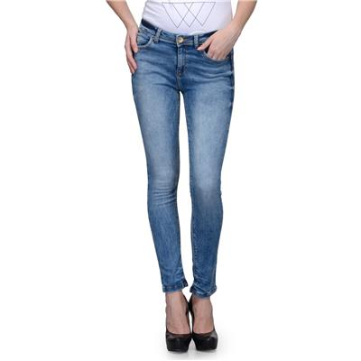 United Colors of Benetton Blue COTTON Jeans for Women