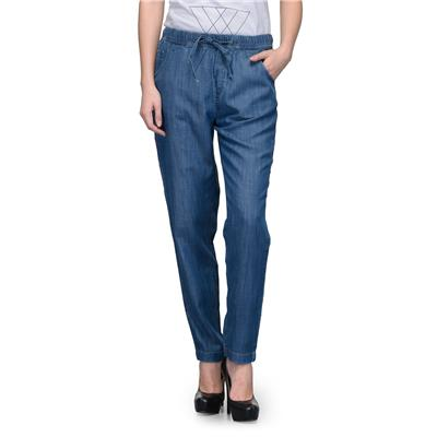 United Colors of Benetton Blue LYOCELL Ladies Trousers