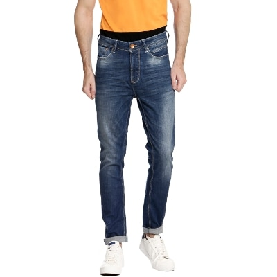 United Colors of Benetton Blue Mens Jeans
