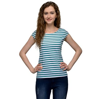 United Colors of Benetton Green COTTON Top for Women