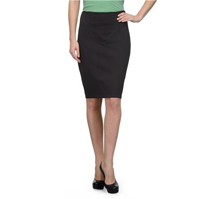 United Colors of Benetton Black Cotton Ladies Skirt