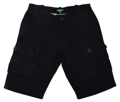 United Colors Of Benetton Navy Cotton Shorts