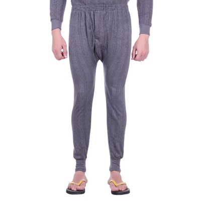 Unix Grey Cotton Thermal Lower