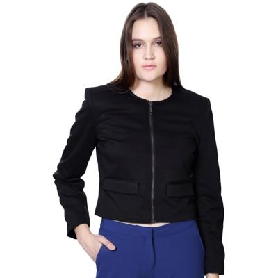 Van Heusen Black Polyester Jacket
