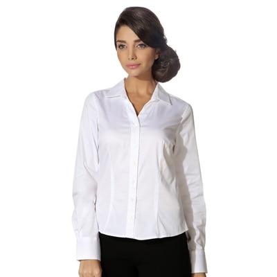 Van Heusen White Cotton Shirt