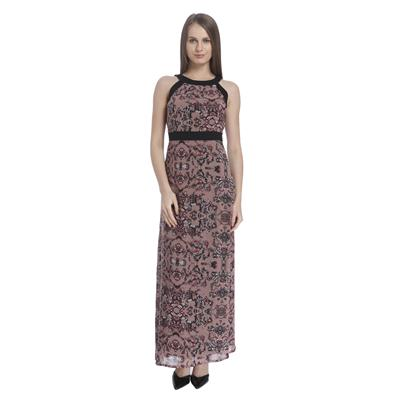 Vero Moda Women's Rose Dust Printed Dresses