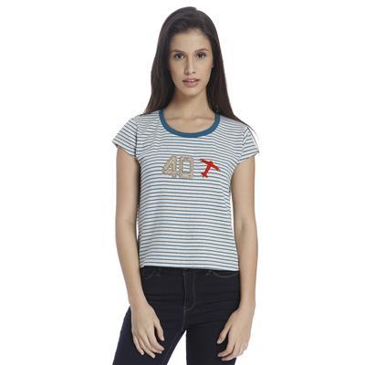 Vero Moda Women striped Casual Top