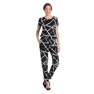Vero Moda Women Black Printed Jumpsuits