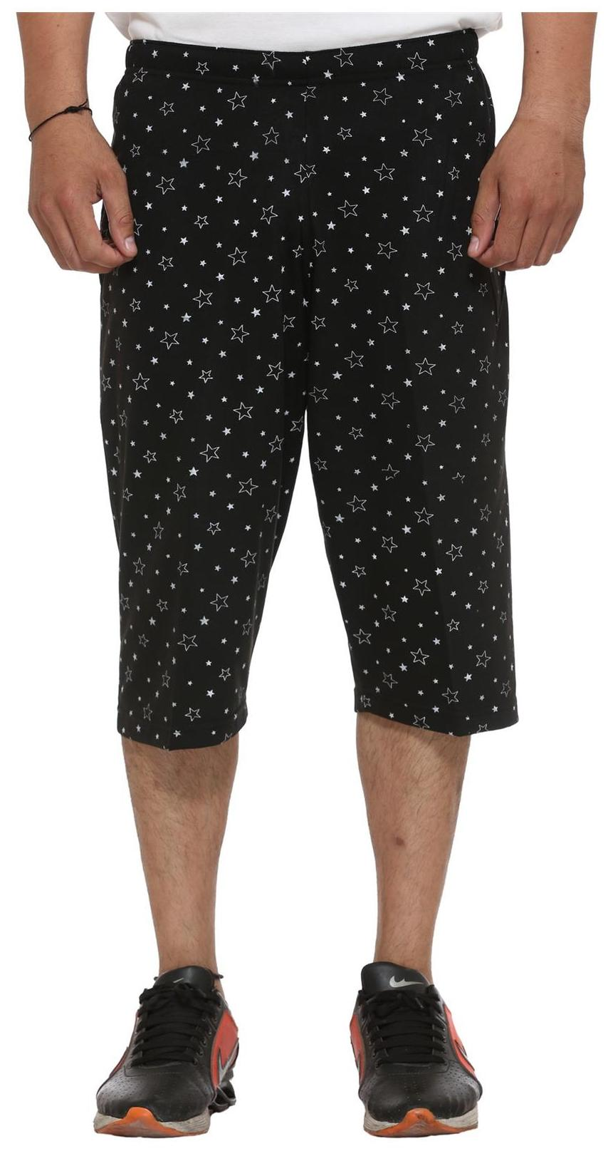 Vimal Cotton Blended 3/4th-Capris For Men