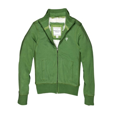WOODLAND Green Cotton And Polyester Jacket