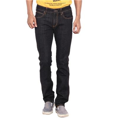Wrangler Black Low Rise Slim Fit Jeans