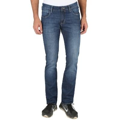 Wrangler Blue Low Rise Slim Fit Jeans