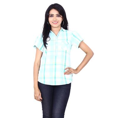 Wrangler Green Cotton Shirt