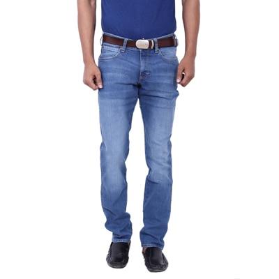 Wrangler Blue Low Rise Slim Fit Jeans (Skanders)