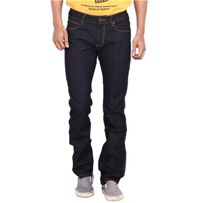 Wrangler Navy Low Rise Slim Fit Jeans