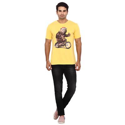 Wrangler Yellow Regular Fit TShirt