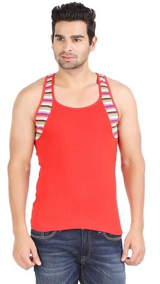 Zippy-Red-Cotton-Vest