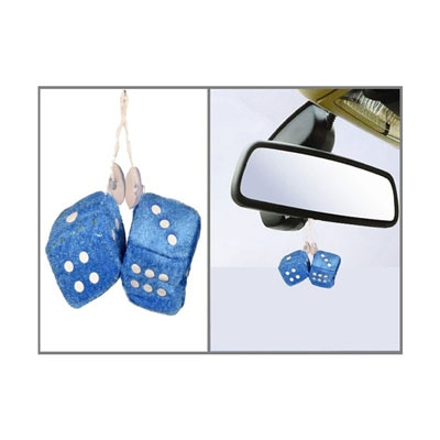 Auto Hub Best Dice Car Perfume Blue Bar Air Freshner