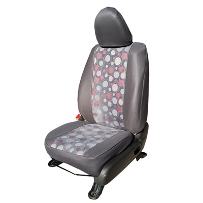 Autofact Car Seat Covers Jacquard Fabric Grey Colour D6