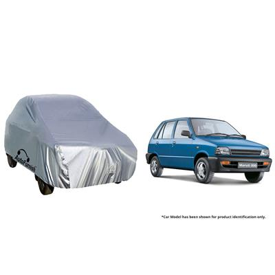 Autofurnish Car Body Cover For Maruti 800 - Silver