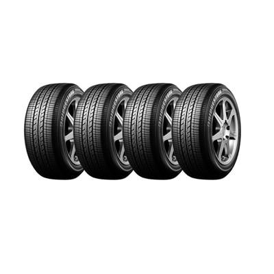 Bridgestone B250 4 Wheeler Tyre (155/80 R13 79T, Tube Less) (Set Of 4)