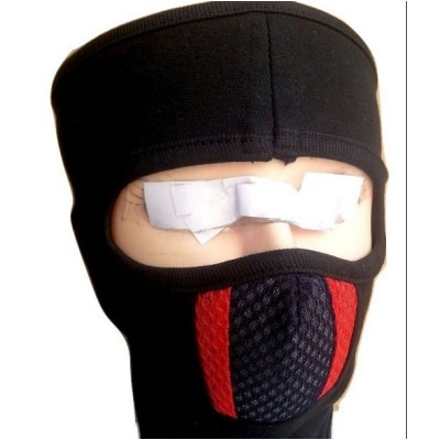 D3 Ninja Black With Red & Black Lines Bike Riders...