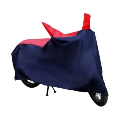 high quality Universal Bike Body Cover - Red & Navy...