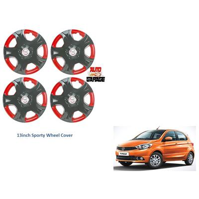 Upto 40% Cashback on Car Electronics & Accessories | Hotwheelz Premium Quality Sporty Wheel Cover For Tata Tiago By Paytm @ Rs.1,495