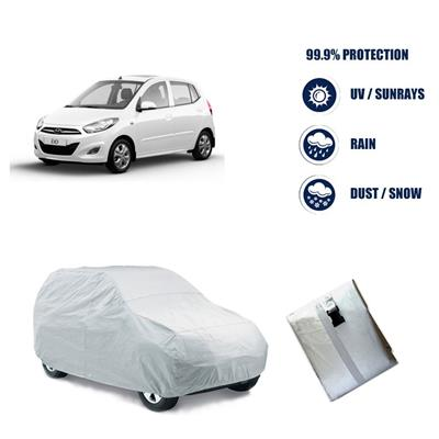 Hyundai i10 Car Body Cover- Silver Matty