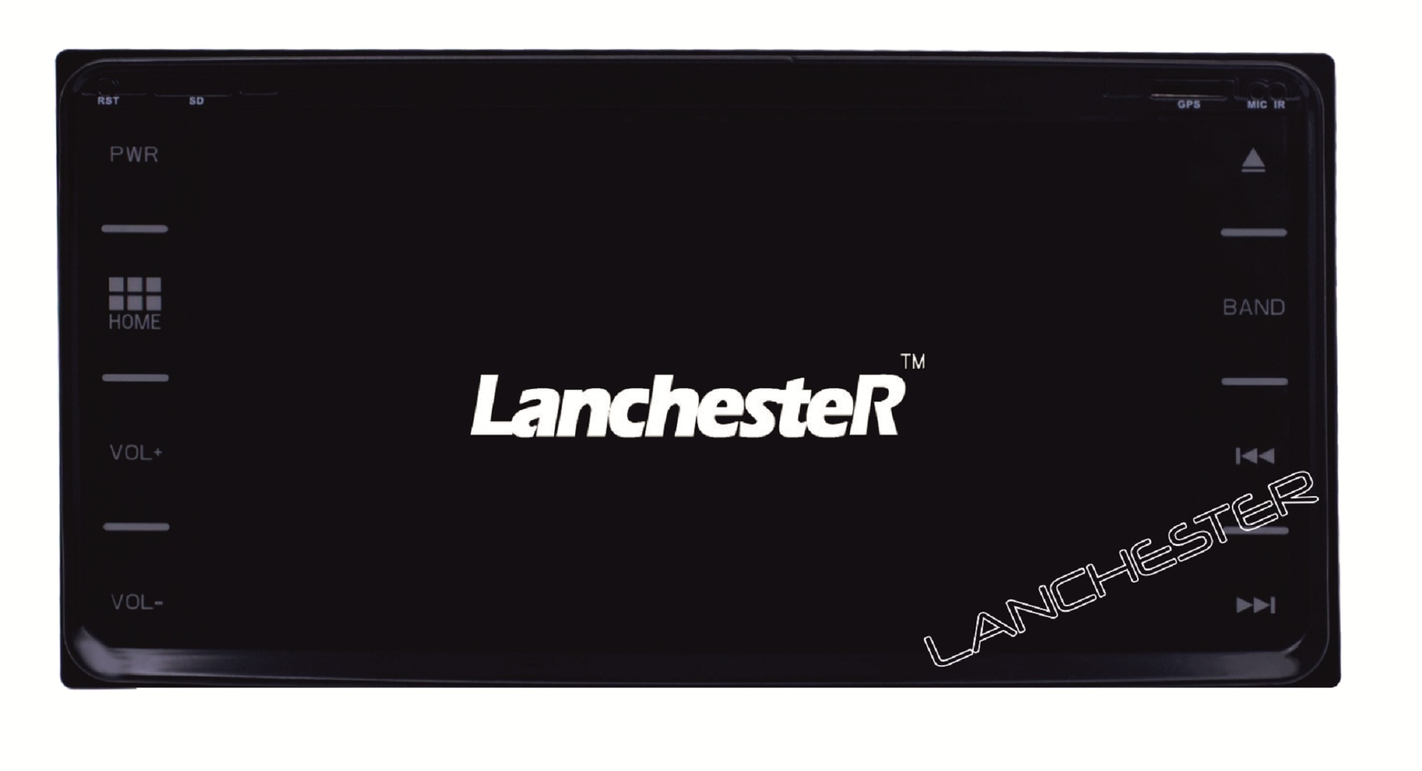 Lanchester Toyota Innova Crysta 6.95 Inch Android 6.0 Marshmallow Navigation System With 1GB RAM 16 GB ROM