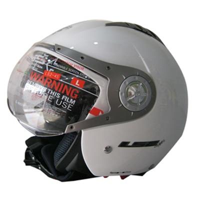 Ls2 Open Face Helmet Of 545 Gloss White