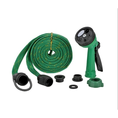 Multifunction Car Wash Water Spray Jet Gun with 10 meter Hose Pipe for Home, Garden, Garage. available at Paytm for Rs.185
