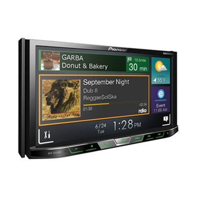 Pioneer - AVH X5890BT - LCD Touchscreen DVD Player