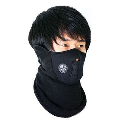 Bike Face Mask /Neoprene Neck Warm Half Face Mask Winter...