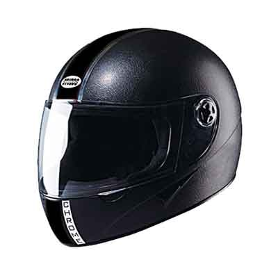 Studds Chrome Full Face Helmet Black