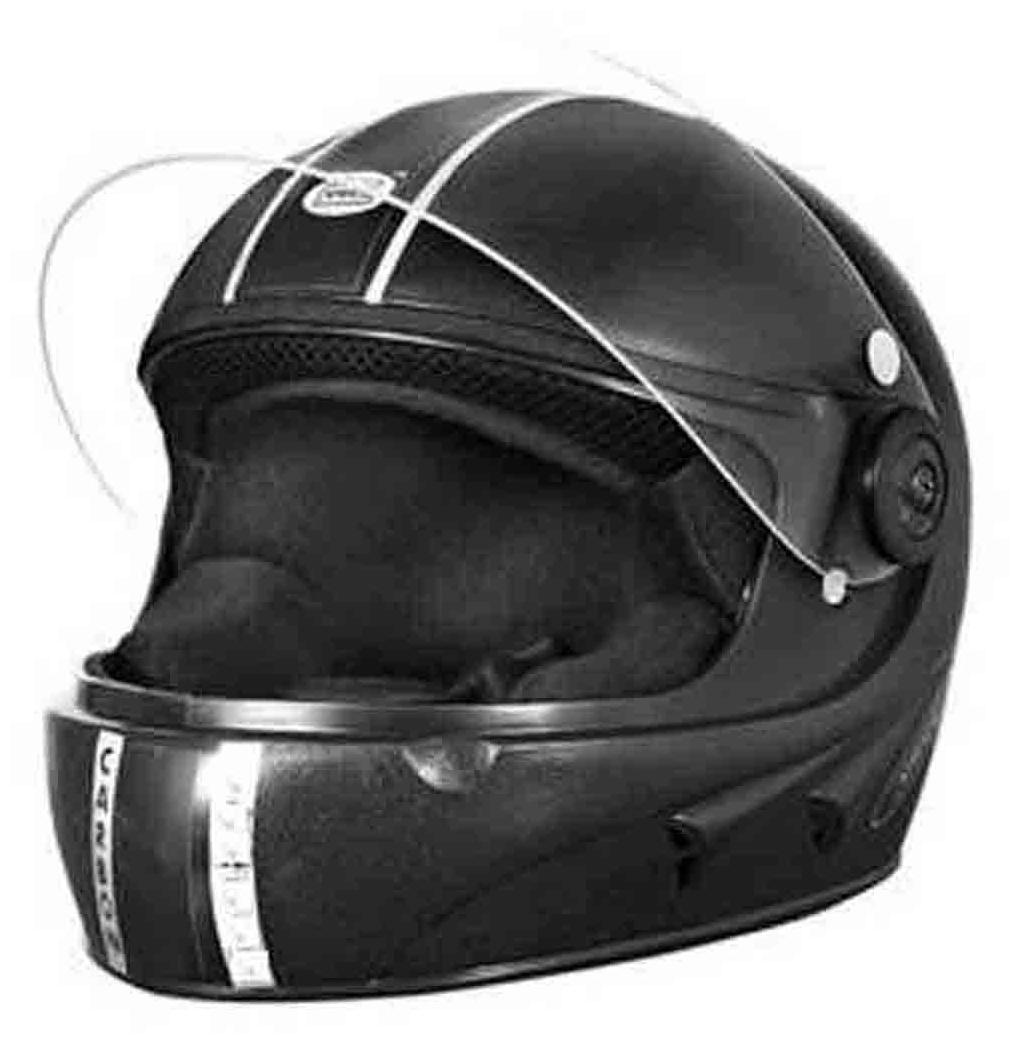 Welfare ISI Mark Full Face Helmet Black (1 Piece)