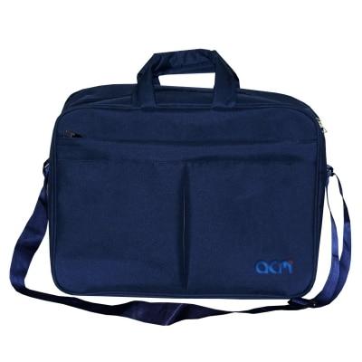 "Acm Executive Office Padded Laptop Bag for Lenovo Yoga 80m100fkin Hybrid 11.6"" Laptop Blue"