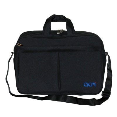 "Acm Executive Office Padded Laptop Bag for Apple Macbook Air Md760hn/B 13"" Laptop Black"