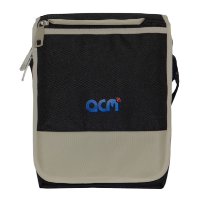 Acm Flip Soft Padded Shoulder Sling Bag for Lenovo Yoga Tab 10 B8000 Carrying Case Black