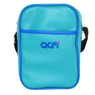 Acm Premium Soft Dual Padded Shoulder Sling Bag For Lenovo Tab 2 A7-20 A720 Carrying Case Turquoise