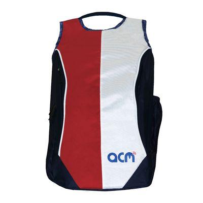 """Acm Premium Laptop Backpack Padded Bag for Acer Aspire Es 11 Es1-131-C8rl 11.6"""" Laptop Red Image"""